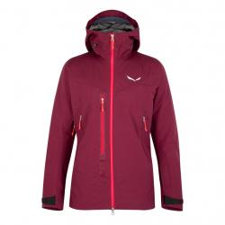 SALEWA SELLA RESPONSIVE W JACKET 6361 RHODO RED