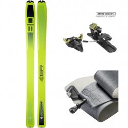 DYNAFIT SET SL 80  FLUO YELLOW/ASPHALT